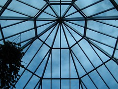 Webby sky (BuckyHermit) Tags: roof sky canada window glass mall shopping bc britishcolumbia richmond ceiling shoppingmall guessed metrovancouver guesswherevancouver richmondcentre luluisland pointknightmusik
