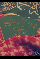 } I  ksa { (  | Ruba , [ AWAY ]) Tags: girl kingdom saudi passport incredible allah ksa shma3