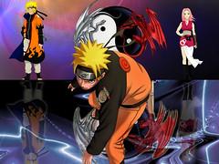 Naruto(Future) + Naruto(Present) + Sakura(Future)