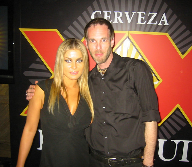 Carmen Electra & DJ Ritchie Wallace by Earthbird Music