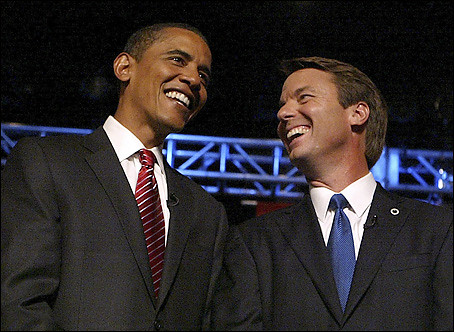 Sen. John Edwards Endorses Sen. Barack Obama by dsmyre.