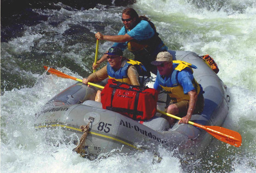 American River White Water Rafting or Chapter