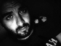 Oggi il male di vivere ho incontrato (Self Edition) (Gatto. Nero.) Tags: photobooth bianconero gattonero