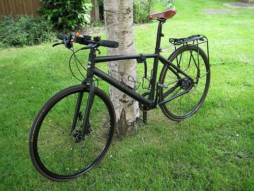 1f91ed01d1 Treated baddie to a new saddle - Brooks Swift with titanium rails