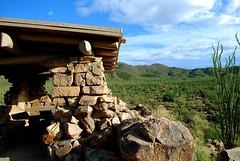 stone raft (Brianna Lehman) Tags: architecture saguaronationalpark stonebuilding