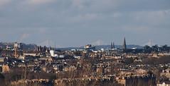 View from Craigmillar Castle Edinburgh (cmax211) Tags: blurred mediumquality craigmillar castle edinburgh scotland view