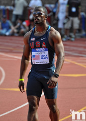 Travis Padgett/USA-Blue (Starmaker Photos) Tags: black college philadelphia sports field race athletic university track pennsylvania young running run pa penn africanamerican sprint relays sprinter sprinting bopr