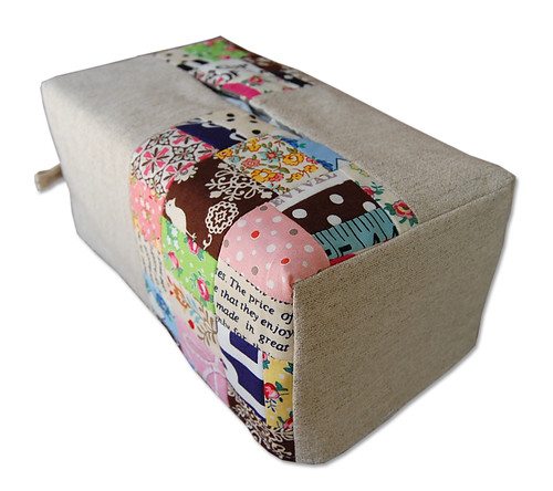 Reversible Tissue Box Cover