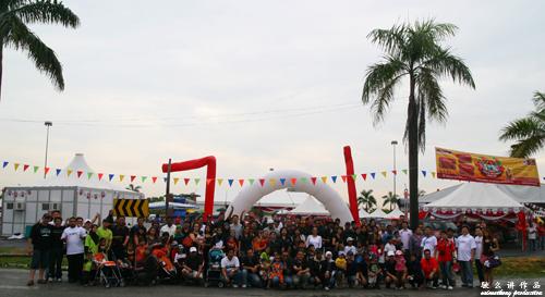 Group photo of all the Naza Kia participants
