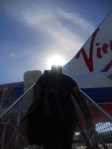 Boarding Virgin