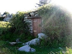 Montée à la plaine d'Uovacce: bergerie de Barba Porca