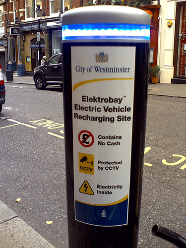 You can charge in London - but only if youre a local.