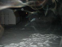 hot tub steam (hurley_squirt) Tags: snowscape