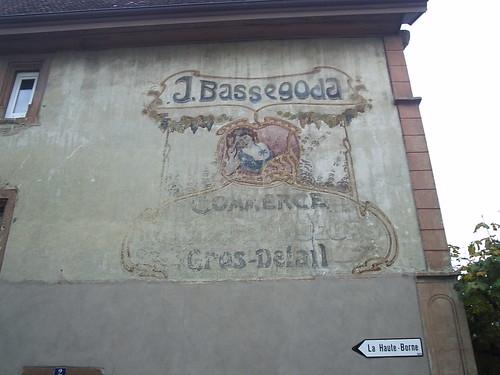 peinture murale publicitaire