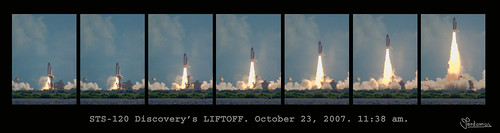 Shuttle Launch Discovery, Oct 2007