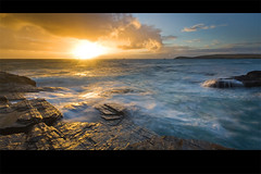 Memories of Summer (jasontheaker) Tags: sunset sea bravo cornwall waves atlantic swell landscapephotography jasontheaker treyarnonbay constantinebay trevosehead