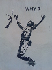 Why? (Michelle Foocault) Tags: streetart war grafitti kreta rethymno