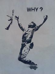Why? (Michelle Foocault) Tags: streetart war grafitti kreta rethymno