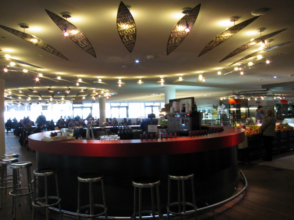 Wine Bar in Central Library