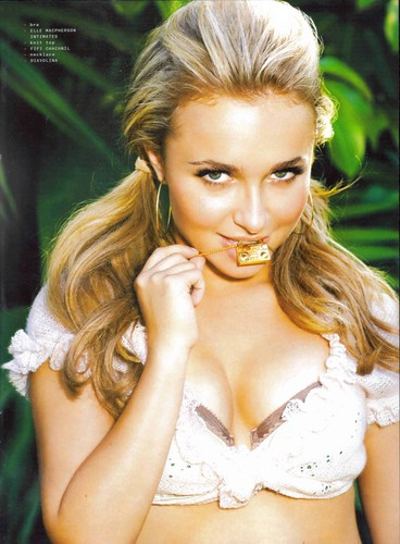 hayden panettiere photo shoot