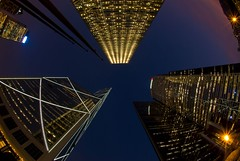 A vertigo sunset... (jazzpic) Tags: sunset reflection skyline hongkong lights nikon vertigo fisheye d200 citibank icbc bankofchina aig straightup cheungkong 105mmf28gfisheye msimons superbmasterpiece 1on1nightshotsphotooftheweek 1on1nightshotsphotooftheweekdecember2007