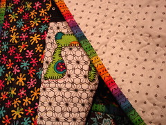 back & binding Judaic Quilt