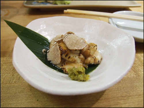 Go's Mart (Canoga Park) - Grilled Cod Sperm Sac (Shirako) with white truffle