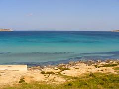 Ghadira Bay (sam2cents) Tags: sea beach sand marine malta shallows ghadira panasoniclumixdmclz3