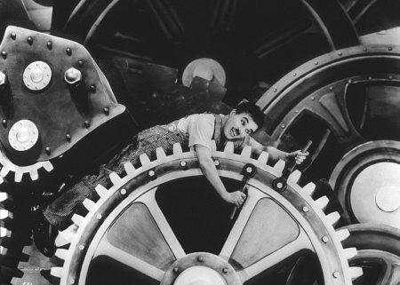 Chaplin Tiempos Modernos