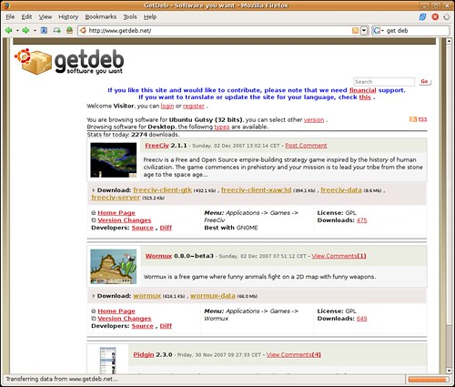 Screenshot-GetDeb - Software you want - Mozilla Firefox-2