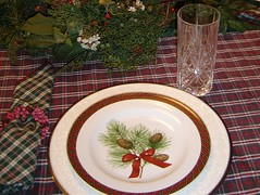 pine plate