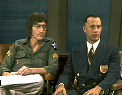 John Lennon e Forrest Gump