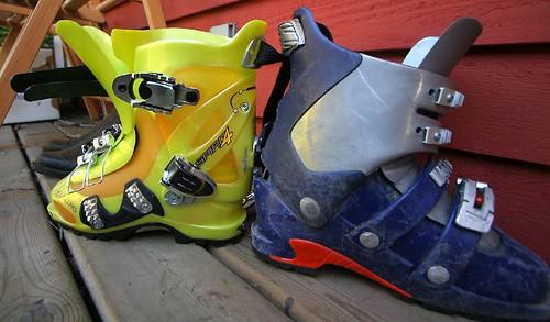 Scarpa ski boot comparison