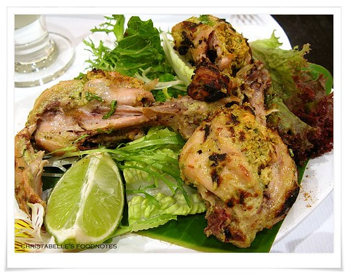 番紅花印度料理前菜窯烤雞腿坦格里NT360