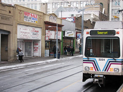 the downtown train