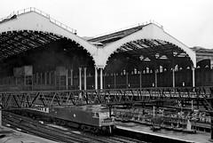 Liverpool Street Station, London, February 1977 (106) (nigel@hornchurch) Tags: england london station train rail railway february 1977 liverpoolstreetstation scan106