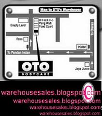 1101 oto warehouse sale malaysia map