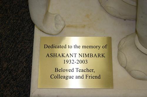 Nimbark Memorial Plaque