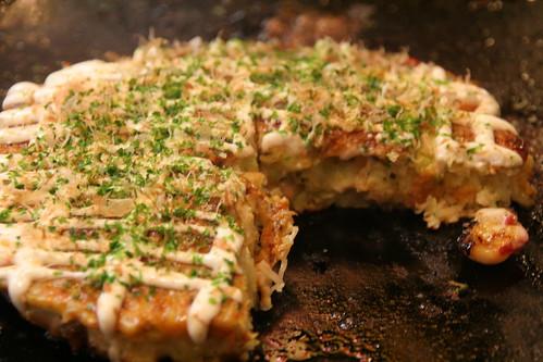 okonomiyaki finish