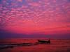 a boat & pink roasted sky (AraiGodai) Tags: boat interesting explore trat araigordai hadbanchuen raigordai araigodai