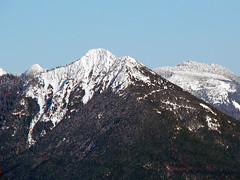 Big Deer Peak,  as seen from Stimson Hill,1.22.08.