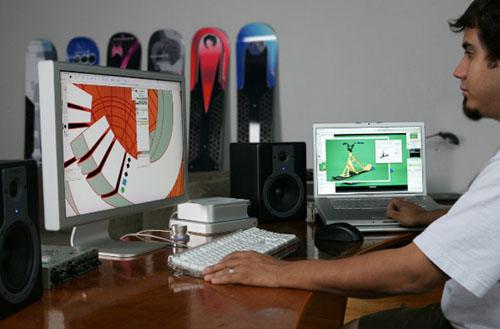 Un pringao Pro simulando que se maneja a la vez en un Mac Mini y un MacBook Pro