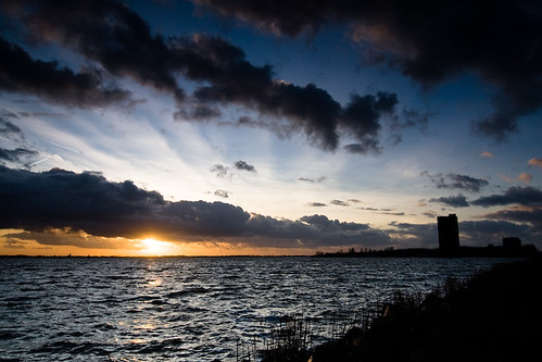Sunset at Gooimeer