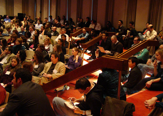 Greener Gadgets Conference was packed