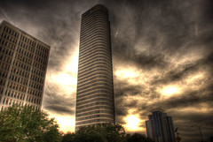 AIG building........ close to downtown houston