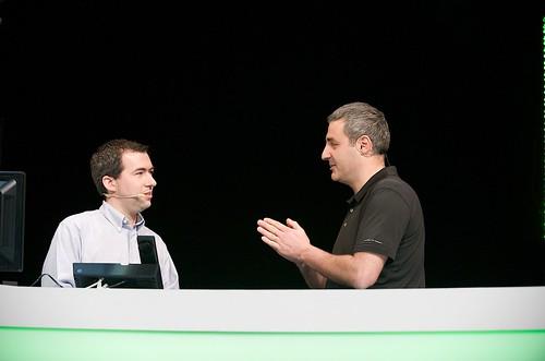 Plénière du jour 3 : Eric Vernier et Damien Caro sur leur démo Speech Server