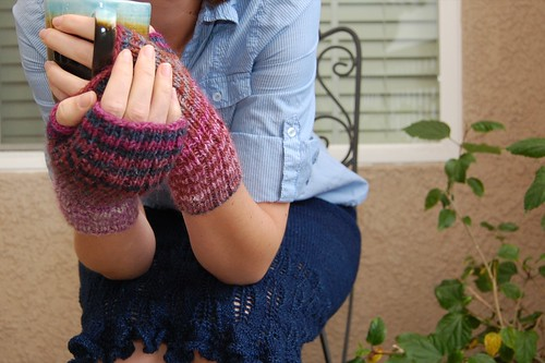 Noro Striped Gloves