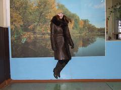 Svetlana (bepahdet) Tags: blue autumn lake black green fall yellow forest spring jump floor boots air gloves cap svetlana sveta jackboots topboots