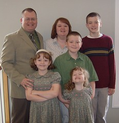 Horne Family Easter 08