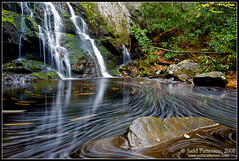 Round and Round (Judd Patterson) Tags: autumn fall pool waterfall appalachians stockphotography greatsmokymountainsnationalpark juddpatterson